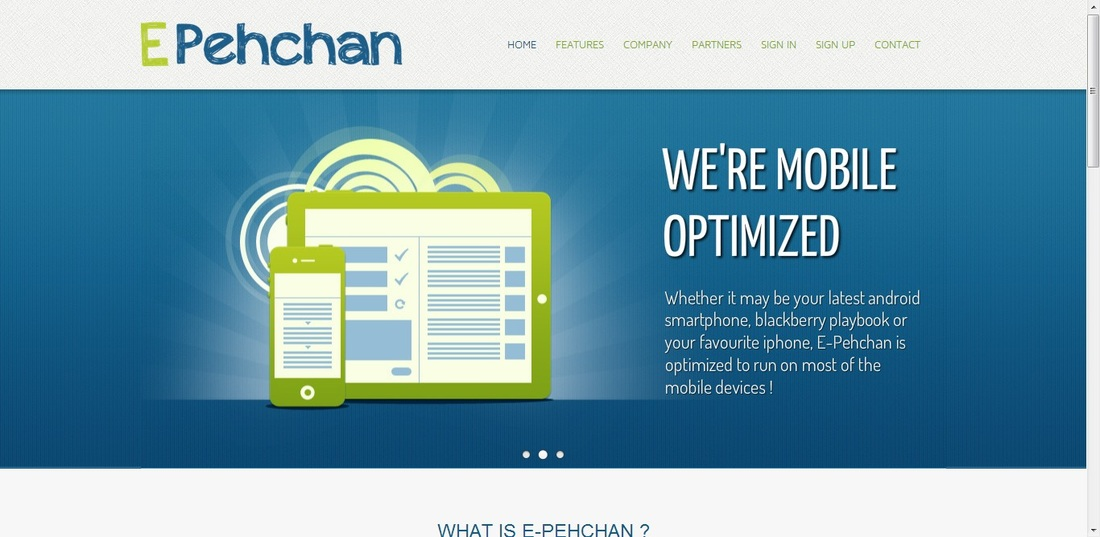 E-Pehchan - Website Conceptualization
